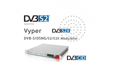 Digital Video Broadcast Modulators | Vyper